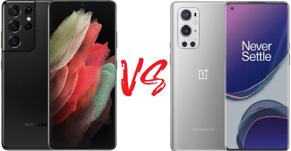 Сравнение телефонов: Samsung Galaxy S21 Ultra против OnePlus 9 Pro