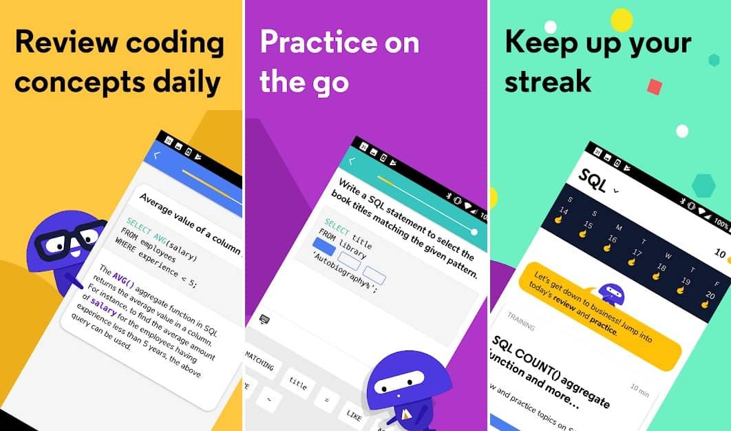 Codecademy Go на андроид