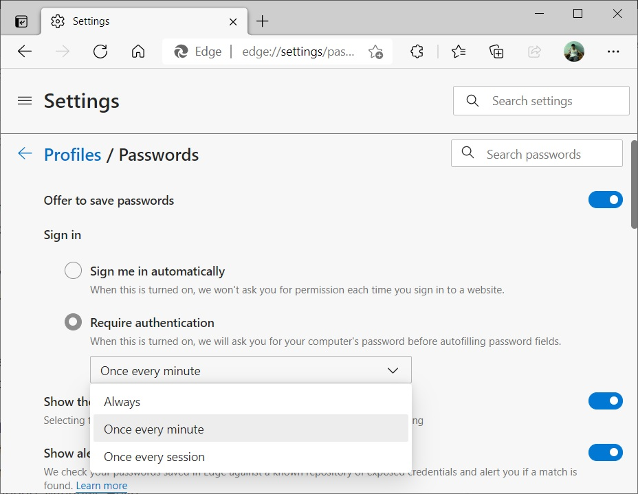 Microsoft Edge получает новые улучшения безопасности в Windows 10
