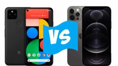 Photo of Google Pixel 5 vs Apple iPhone 12 Pro