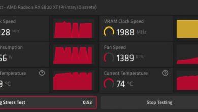 Photo of Новый драйвер AMD добавляет инструмент для стресс-тестирования разогнанной видеокарты
