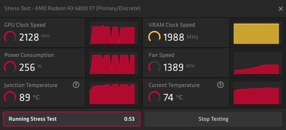 Новый драйвер AMD добавляет инструмент для стресс-тестирования разогнанной видеокарты