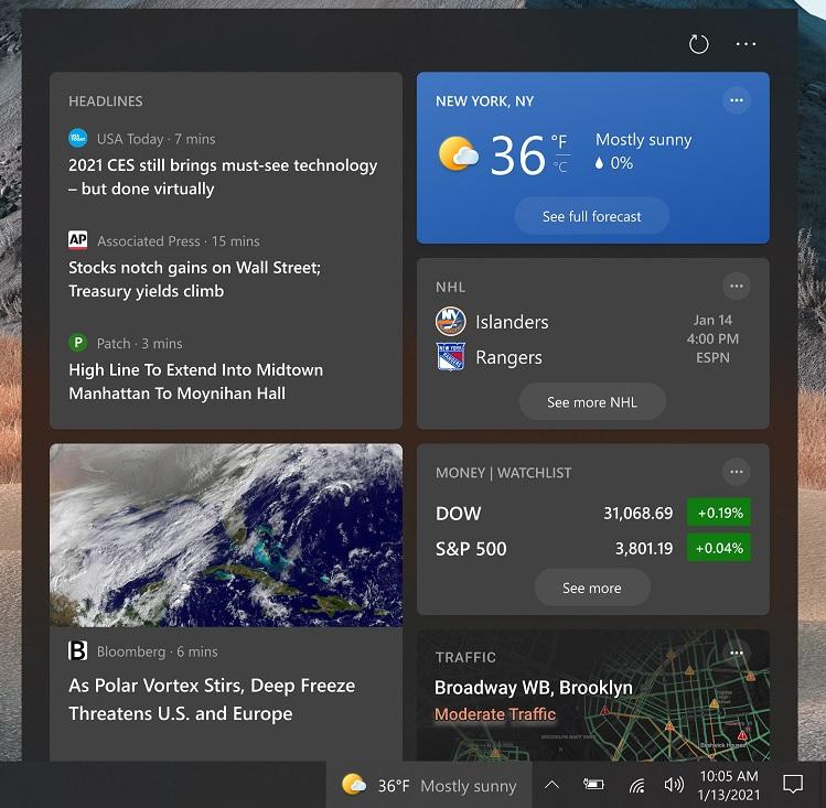 Windows 10 KB5001391 (сборка 19042.964