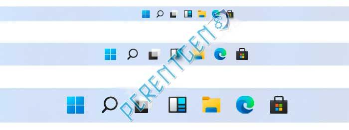Как изменить размер панели задач в Windows 11