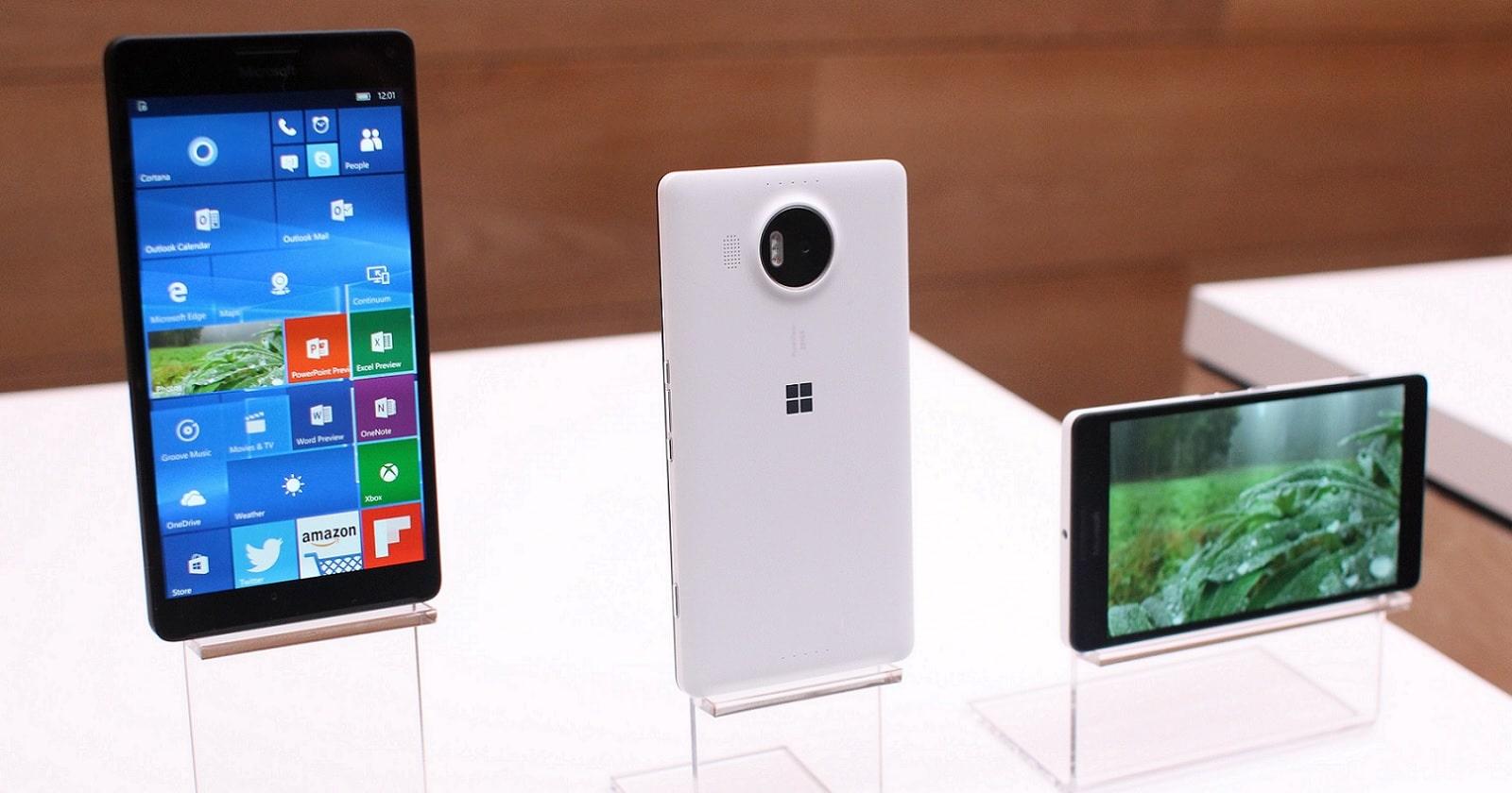 Microsoft Lumia и Surface