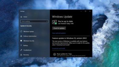 Photo of Microsoft начинает тестирование пакета для Windows 10 21H1