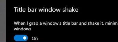 Photo of Переключатель функций Aero Shake появится в Windows 10