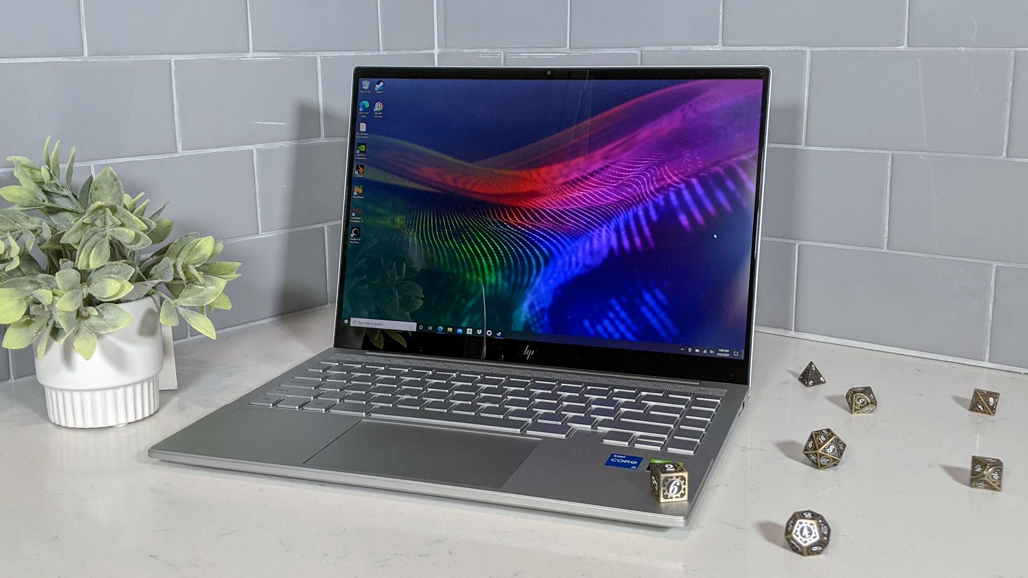 Дизайн HP Envy 14 (2021)