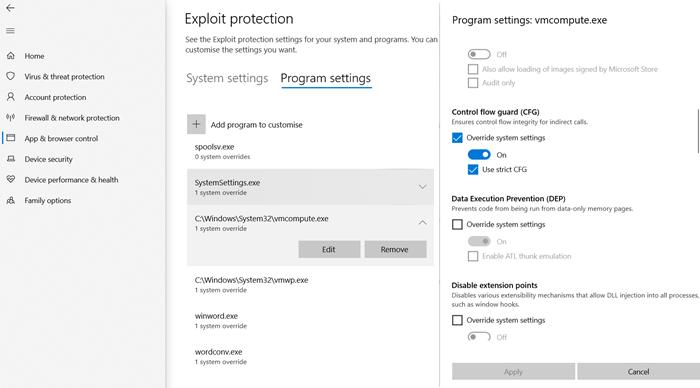 Windows не загружается после включения платформы гипервизора или режима SVM
