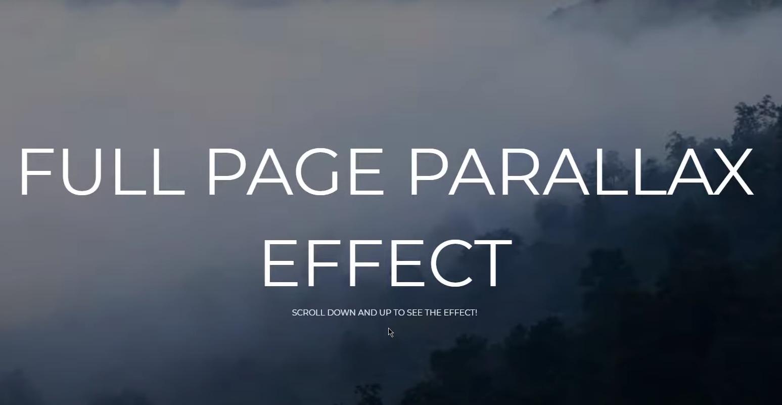 Parallax безусловно, одна из самых интересных тенденций.