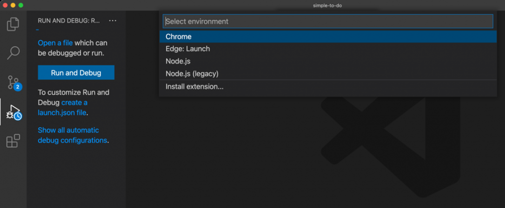 Отладка JavaScript теперь в Visual Studio Code