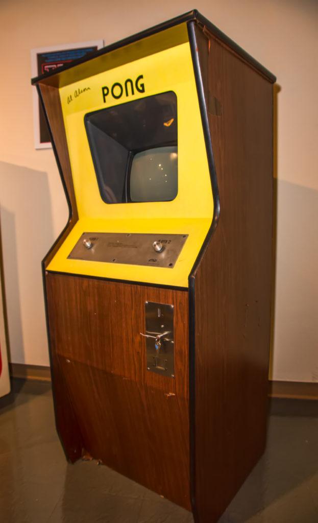 Игровой автомат PONG