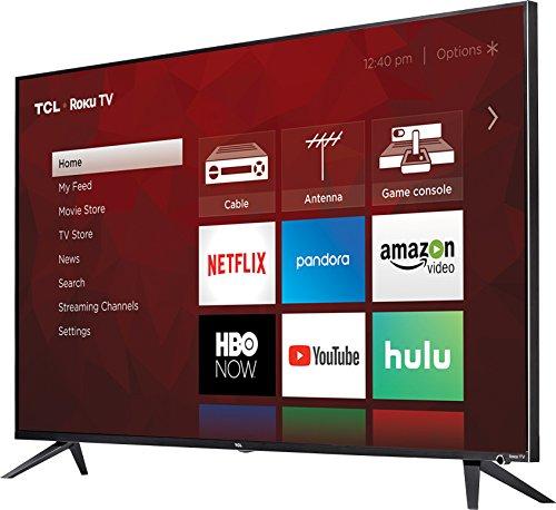 TCL 55R617 55-дюймовый телевизор Roku- Лучший бюджетный 4K-телевизор, который вы можете купить