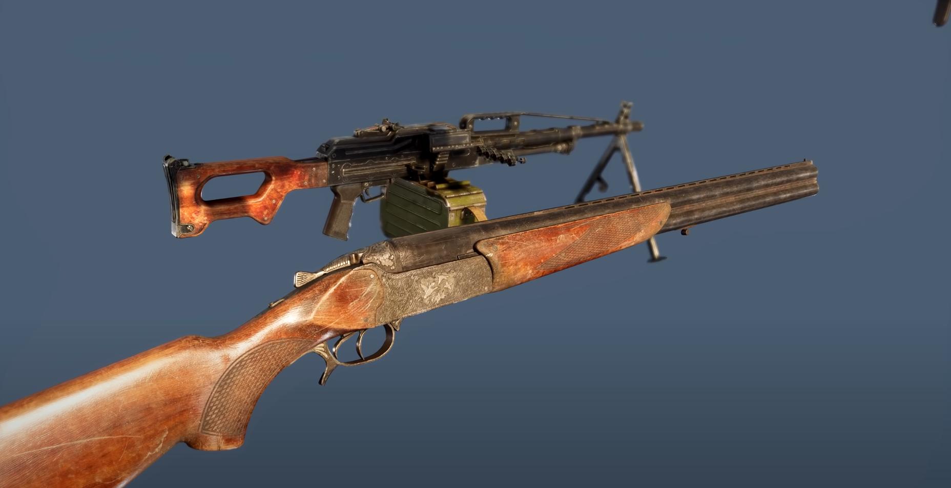 В арсенале будет больше 30 разных единиц оружия