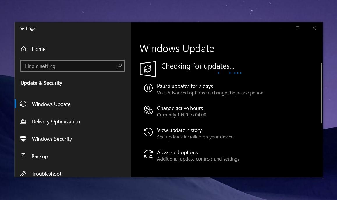 Windows 10 KB4601315