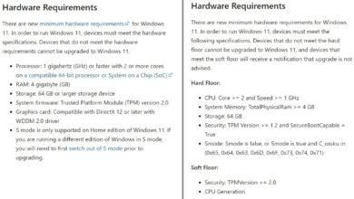 Photo of Microsoft: Windows 11 потребует процессоры 8 поколения