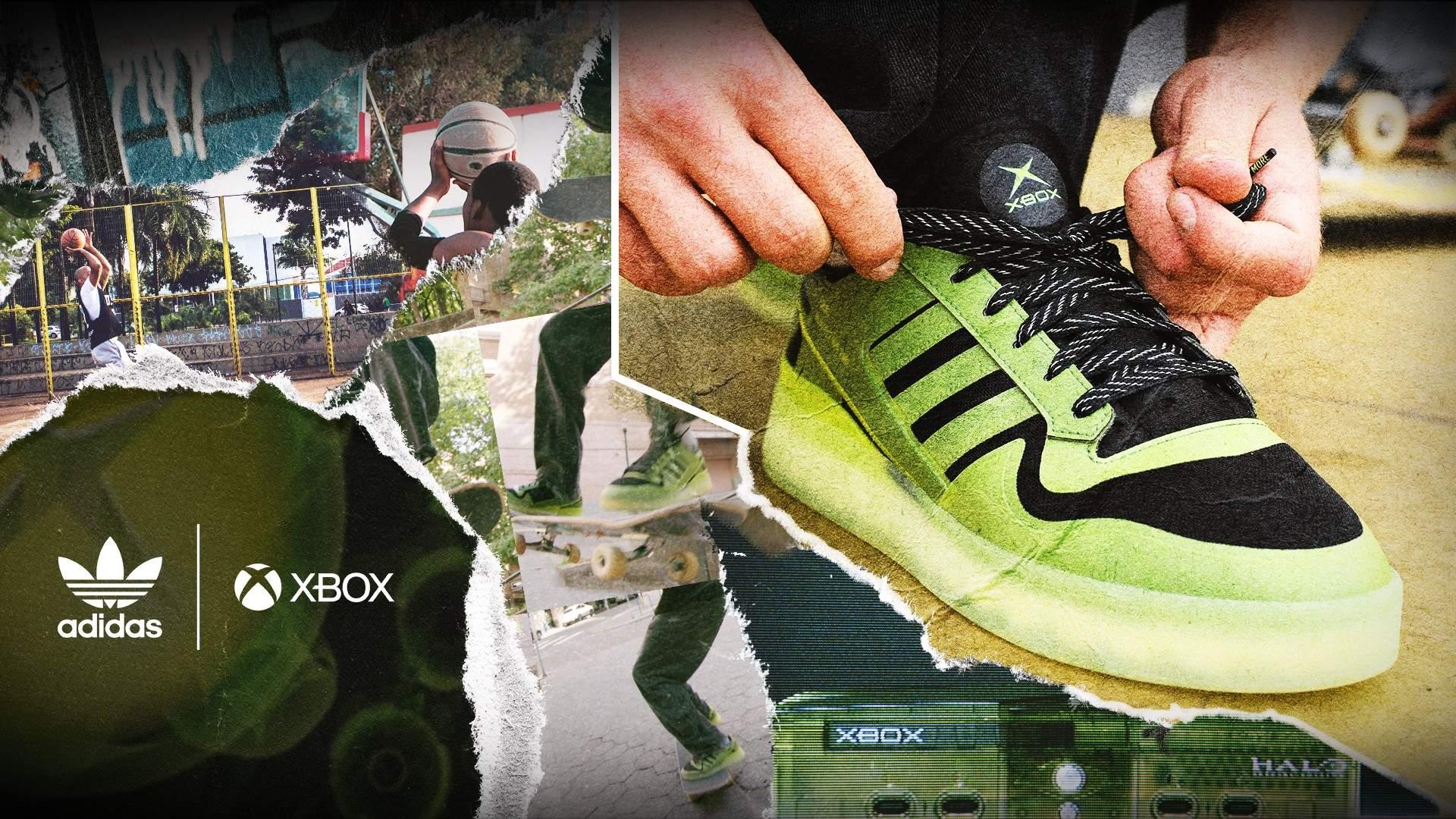 adidas xbox кроссовки