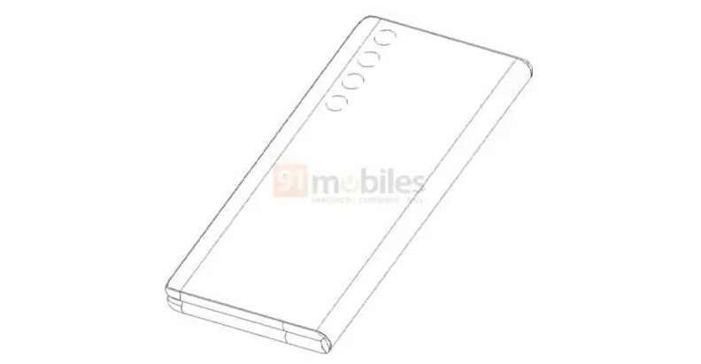 Huawei патентует складной дизайн телефона Huawei