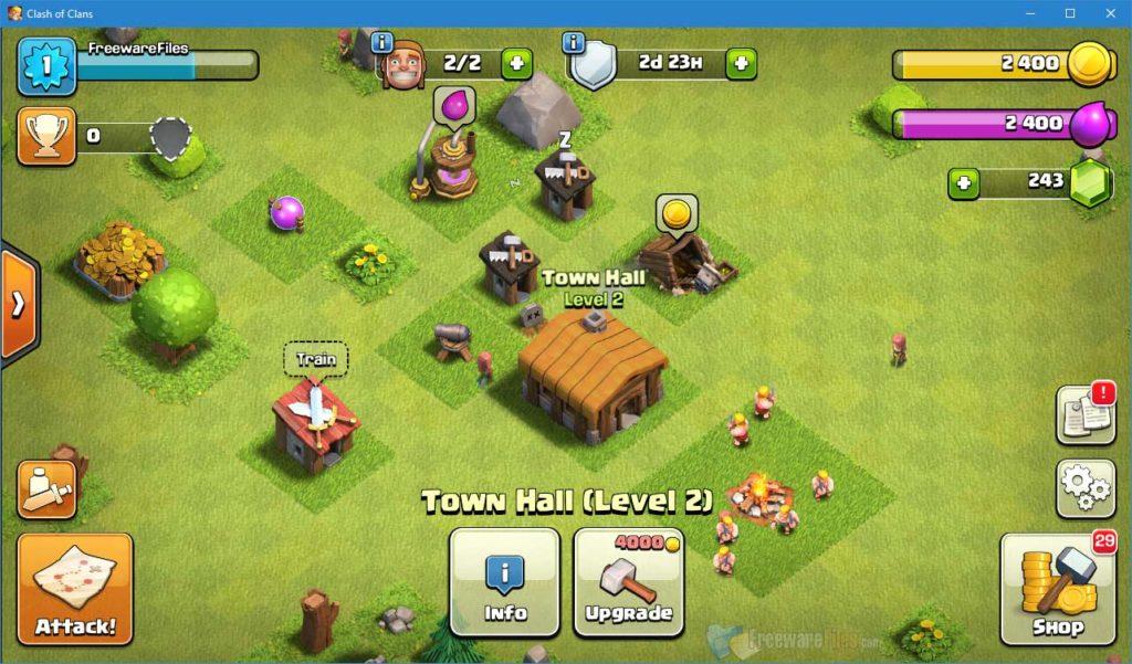 screenshot Clash of Clans 2021