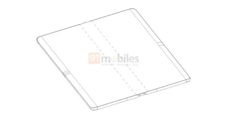 Huawei патентует складной дизайн