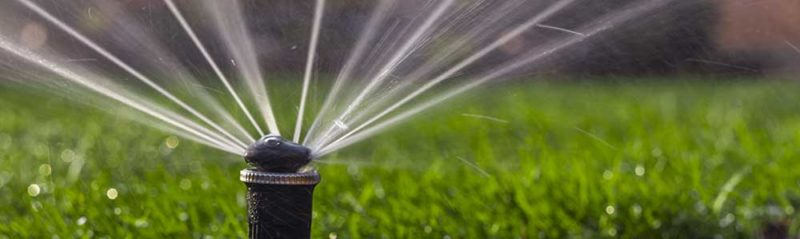 полив искусственного газона